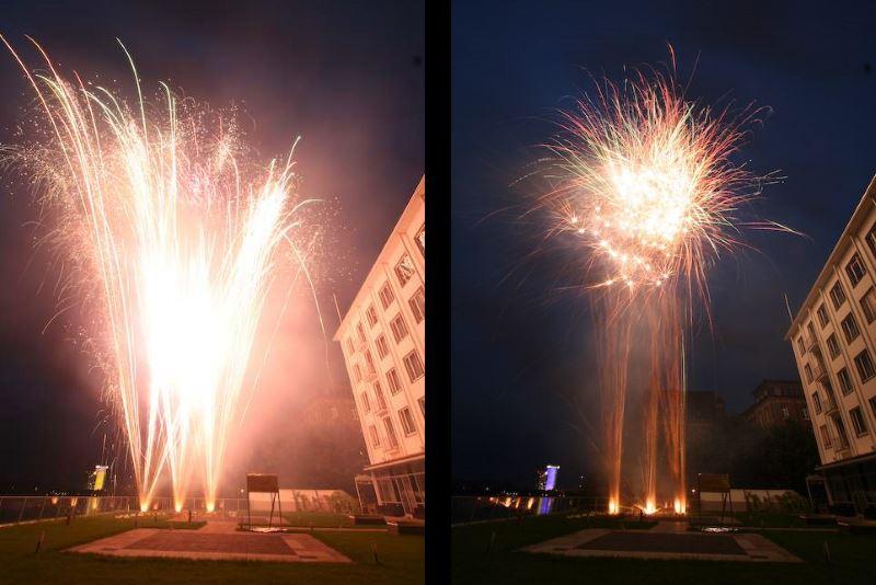 Feuerwerk Hochzeit Königshof IIfsa